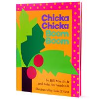 廖彩杏推荐英文原版书单 让26个字母鲜活起来 Chicka Chicka Boom Boom 叽喀叽喀碰碰幼儿启蒙认知