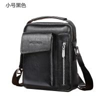 韩版男士单肩斜挎包竖款小手提包复古男包包商务皮包休闲潮流背包