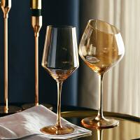 光一红酒杯套装水晶玻璃家用香槟杯创意高脚杯葡萄酒杯欧式小奢华大号
