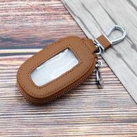 汽车钥匙包通用带透明天窗钥匙扣男女遥控车锁匙扣套腰挂韩