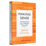 理解:英语语法的故事 英文原版 Making Sense: The Glamorous Story of Englis