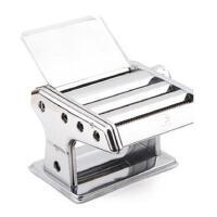 三刀压面机 家用不锈钢面条机 饺子皮机 3刀圆面压面机