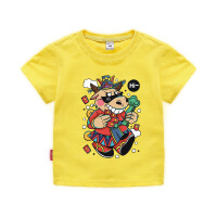 【3件2折价:32元】斯提妮夏季新款儿童短袖t恤休闲 潮童上衣ins 卡通棉衣童装【支持礼品卡】