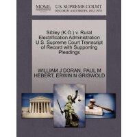 Sibley (K.O.) v. Rural Electrification Administration U.S.