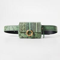 小包包夏女包超火手机包蟒蛇纹单肩斜挎迷你女士腰包