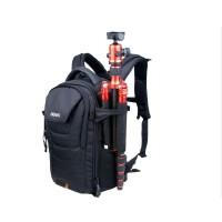 百诺 游侠Ranger 100 200 300 双肩摄影包单反相机包登山旅行包 黑色