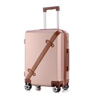 拉杆箱万向轮女20寸学生密码箱包男女24寸复古旅行箱子可商务