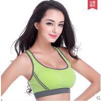 无钢圈文胸背心式大码瘦身胸罩 运动内衣女跑步透气 防震健身薄款