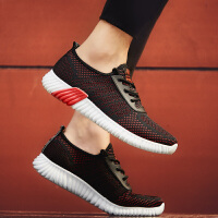 时尚新款男鞋夏季透气网面运动跑步韩版潮流休闲男潮鞋网红帆布鞋