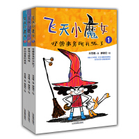 飞天小魔女1-3【3册】/飞天小魔女・大盗霍震波
