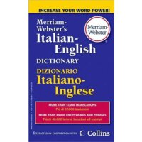 �f氏原版�~典 Merriam-Websters Italian-English Dictionary