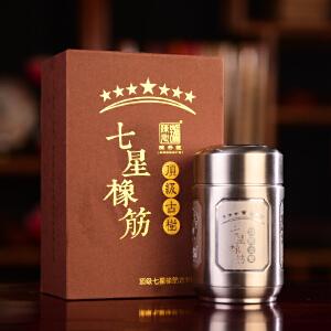 【单盒拍】2017年云南普洱茶 陈升号七星橡筋老班章古树茶 品鉴装 28克/盒