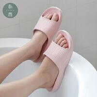 朴西情侣家居女室内家用软底防滑洗澡浴室夏天居家凉拖鞋男夏季
