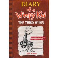 Diary of a Wimpy Kid #7 The Third Wheel 小屁孩日记7:电灯泡(美国版,平装)