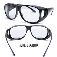 2018新款大框3D偏光不闪式立体3d眼镜电影院三眼睛电视通用近视