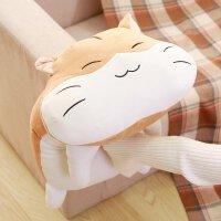 仓鼠抱枕公仔布娃娃玩偶毛绒玩具睡觉趴趴抱枕创意礼物送女友