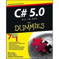 【预订】C# 5.0 All-In-One for Dummies 9781118385364