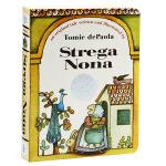 【中商原版】巫婆奶奶 英文原版 Strega Nona 经典绘本 纸板书 1976年凯迪克银奖作品