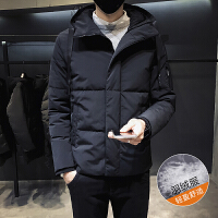 男士羽绒服保暖新款韩版潮流帅气加厚中长款男款冬装冬季外套男潮DJ-DS236