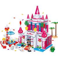 【当当自营】邦宝益智拼装积木小颗粒儿童女孩玩具建筑礼物 幸福殿堂6101