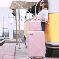 0318060600912可爱韩版糖果色拉杆皮箱女子母旅行箱包小清新密码男行李箱大学生