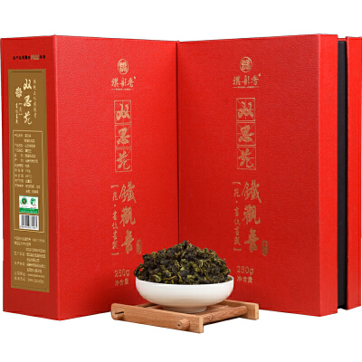 2018新茶 祺彤香茶叶 安溪铁观音 特级清香型铁观音乌龙茶500g祺彤香茶叶