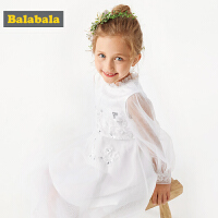 巴拉巴拉童装儿童连衣裙秋装新款韩版小童宝宝公主裙女童礼裙