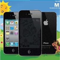 Benks/邦克仕 苹果 iPhone 4高清保护膜 iPhone 4S高清防指纹全身插画贴膜 iPhone 4S卡通透明贴膜