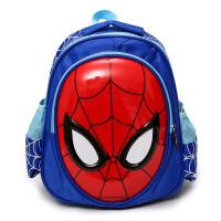 儿童书包男幼儿园小学生男孩美国队长宝宝双肩包可爱蜘蛛侠小背包抖音ins 蓝色