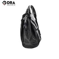 【支持礼品卡支付】DRACONITE潮人双肩包水桶包男女学生网袋旅行包英文抽带背包11646