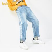 【3件4.5折:81】巴拉巴拉男童裤子秋装中大童童装百搭牛仔裤时尚韩版洋气