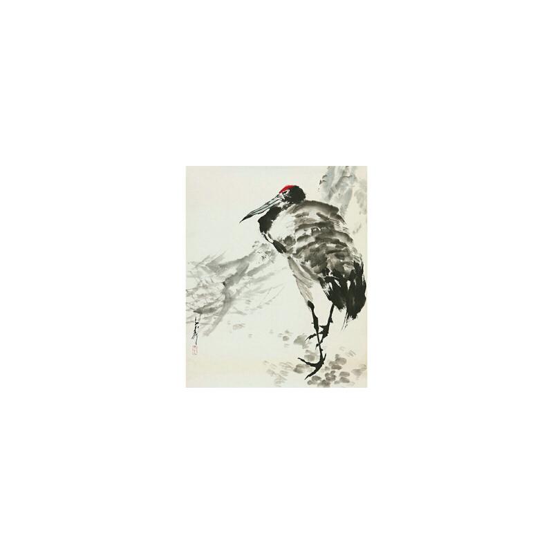 王子武(款)《仙鹤》国家一级美术师