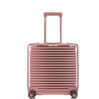 18寸铝镁合金拉杆箱万向轮行李箱商务登机箱密码旅行箱皮箱包可商务 18寸