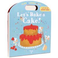 【现货】英文原版 Let's Bake a Cake! (Play Learn Do) 让我们来做蛋糕(一起做蛋糕吧)2