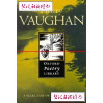 【旧书二手书9成新】HenryVaughanoxfordPoetryLibraryHenryVaughanOxford