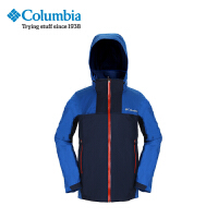 Columbia/哥伦比亚户外男款防水热反射三合一冲锋衣PM7788