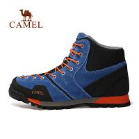 【满259减200元】camel骆驼户外男款徒步鞋 高帮防滑耐磨男士户外鞋