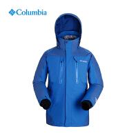 Columbia哥伦比亚户外男羽绒内胆防水热反射三合一冲锋衣PM7793