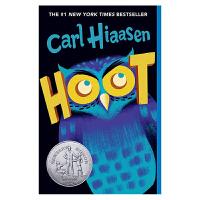【中商原版】叫声 英文原版 Hoot 拯救猫头鹰 英文版 获纽伯瑞银奖 儿童文学小说