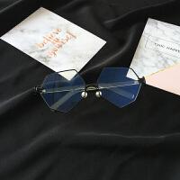 2018082750435542018 新款复古防日系蓝光圆球平光镜男女装饰眼镜框架大框近视镜性感潮流