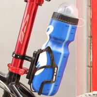 山地车调节随意挂水杯架折叠车配件自行车铝合金水壶架转换座