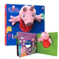 粉红猪小妹 大型手偶纸板书 啥是佩奇Peppa Pig: Play with Peppa Hand Puppet Bo
