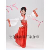 元旦儿童汉服古装服装幼儿园国学弟子规男女童三字经书童演出服