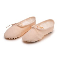 成人形体鞋体操鞋 儿童瑜伽鞋软底练功鞋 新款猫爪鞋芭蕾舞鞋儿童舞蹈鞋