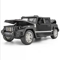 战盾合金车模型汽车模型仿真合金汽车模型男孩装甲车车儿童回力车