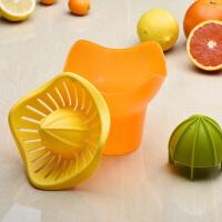 家用橙子柠檬榨汁器手动榨汁机简易迷你水果压汁器挤果汁