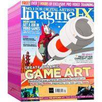 英国 Imagine FX 杂志 订阅2021年 F14 科幻数位 3D动漫 游戏 数码设计杂志