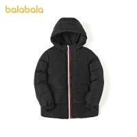 【2件4折�r:139.6】巴拉巴拉�和�羽�q服男童2020新款冬�b中大童外套洋�獍俅畋E��r尚