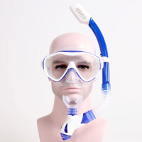 全干式呼吸管 近视潜水镜 浮浅装备浮潜三宝套装