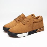 DAZED CONFUSED2017青春潮流男士棉鞋韩版加棉保暖休闲鞋三次硫化鞋学生板鞋